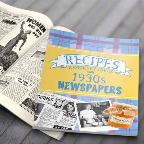 Personalised Recipes from 1930s Newspapers